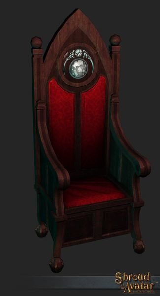 Benefactor's Lord Throne - Shroud of the Avatar