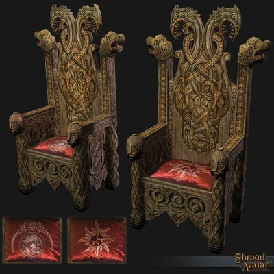 Lord Marshal Benefactor Throne - Shroud of the Avatar