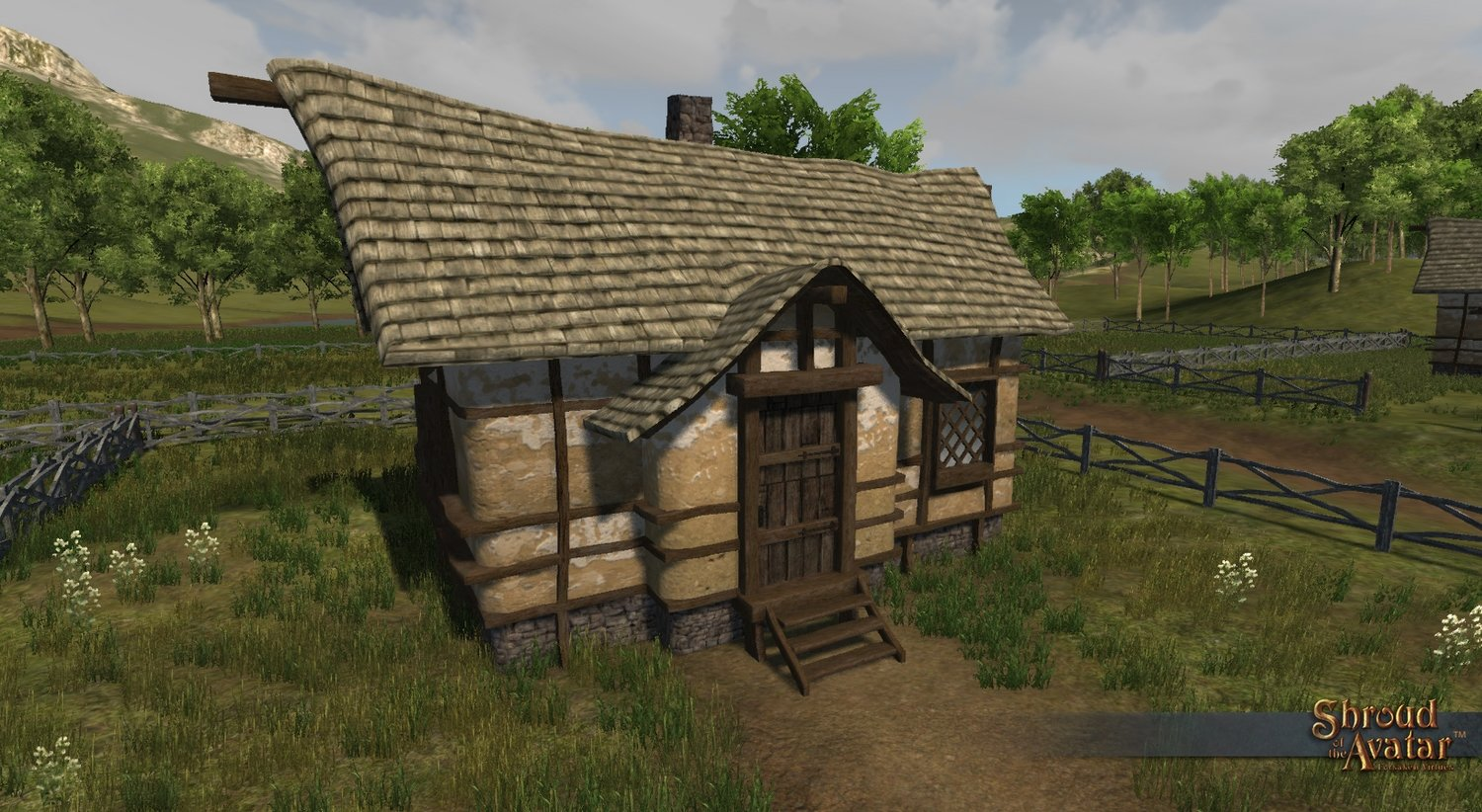 Shingle-Roof (Village Home) - Shroud of the Avatar