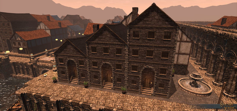 Stone Two-Story (Row Home) - Shroud of the Avatar