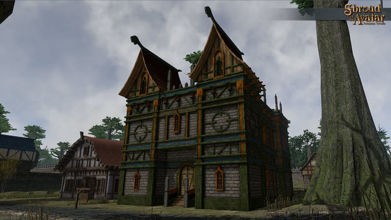 Viking Two-Story Stronghold (Village Home) - Shroud of the Avatar