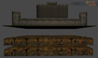 Keep Stone 2-story Basement - Shroud of the Avatar