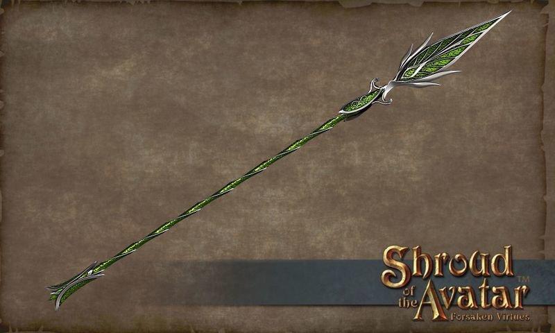 Leaf Spear - Shroud of the Avatar