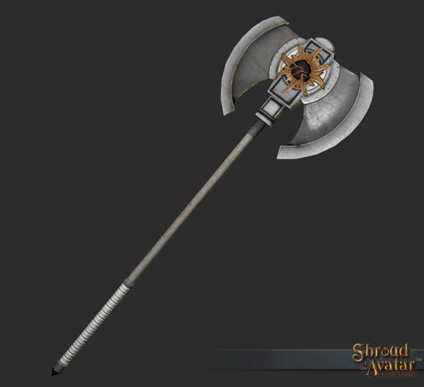 Royal Founder's Two-handed Axe - Shroud of the Avatar