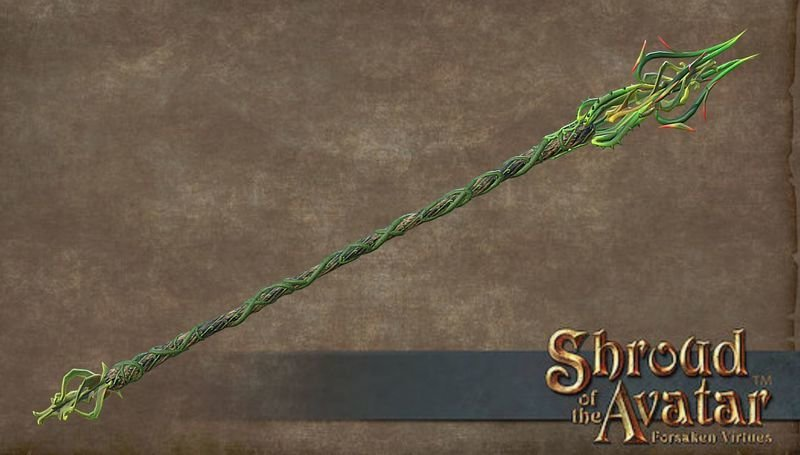 Thorn Staff - Shroud of the Avatar