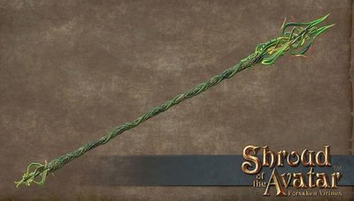 Thorn Staff - Shroud of the Avatar