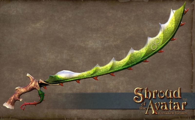 Thorn Sword - Shroud of the Avatar