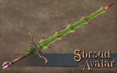 Thorn Two-handed Sword - Shroud of the Avatar