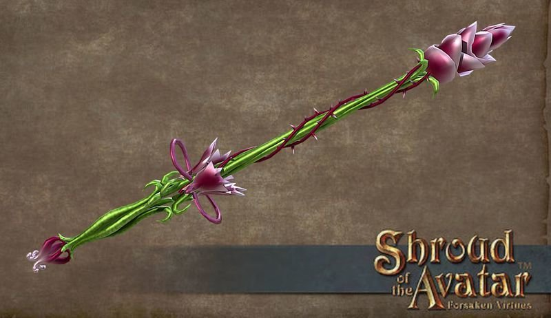 Thorn Wand - Shroud of the Avatar
