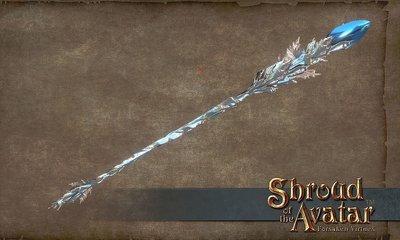 Virtue Ice Staff - Shroud of the Avatar