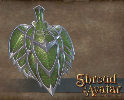Leaf Shield - Shroud of the Avatar