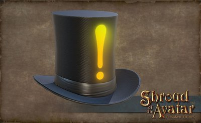 Exclamation Stovepipe Hat - Shroud of the Avatar