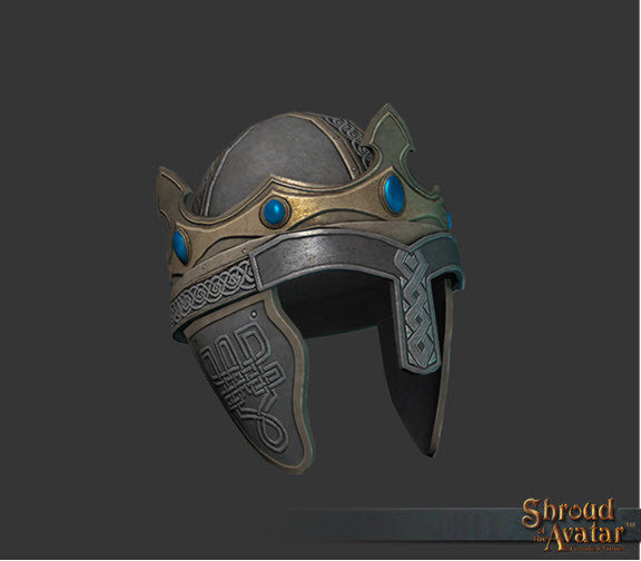 Eternal Pattern Lord Marshal Helmet - Light Source - Shroud of the Avatar