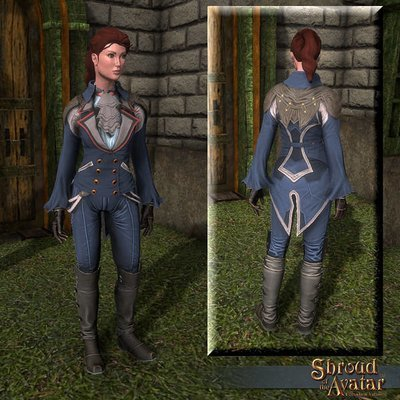 Fancy Riding Outfit (Boots, Chest, Legs) - Shroud of the Avatar