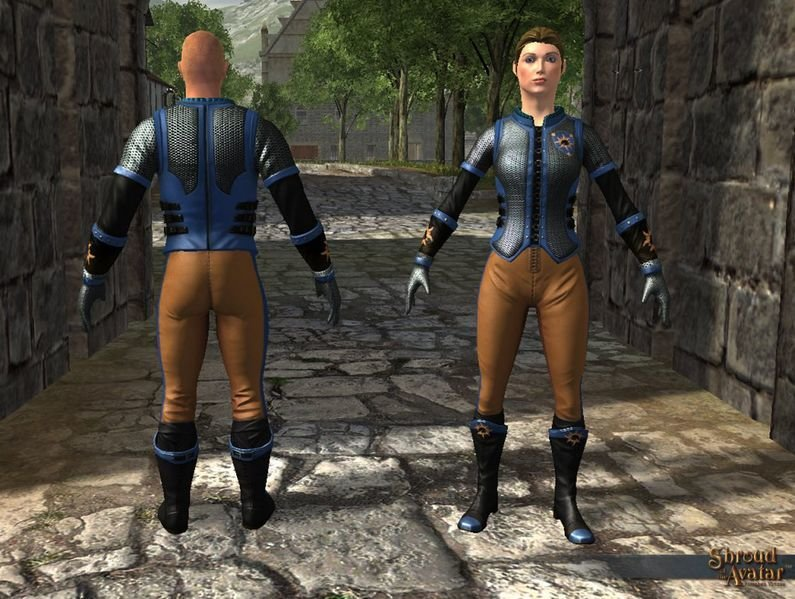 Founder Mail Set (Boots, Chest, Gloves, Legs) - Shroud of the Avatar