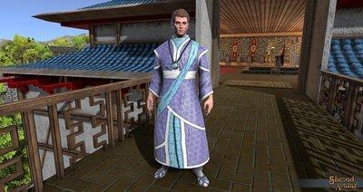 Ornate Kimono Set (Kimono, Legs, Slippers) - Shroud of the Avatar