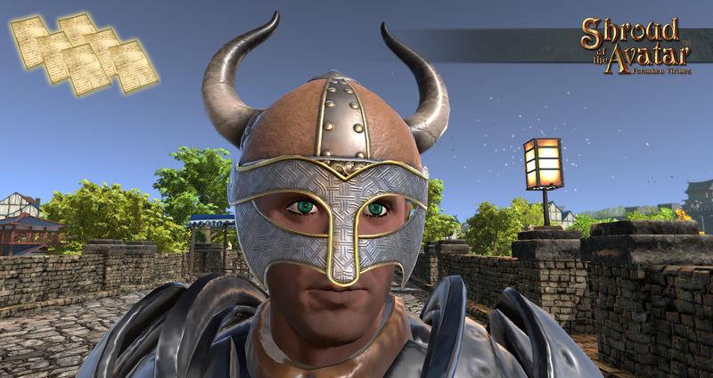 Pattern Viking Helm  - Shroud of the Avatar