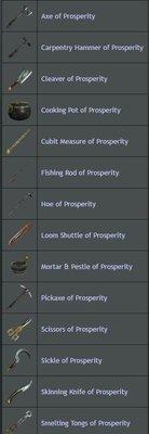 Prosperity Tool Reward - In Bag/Unchosen - Shroud of the Avatar