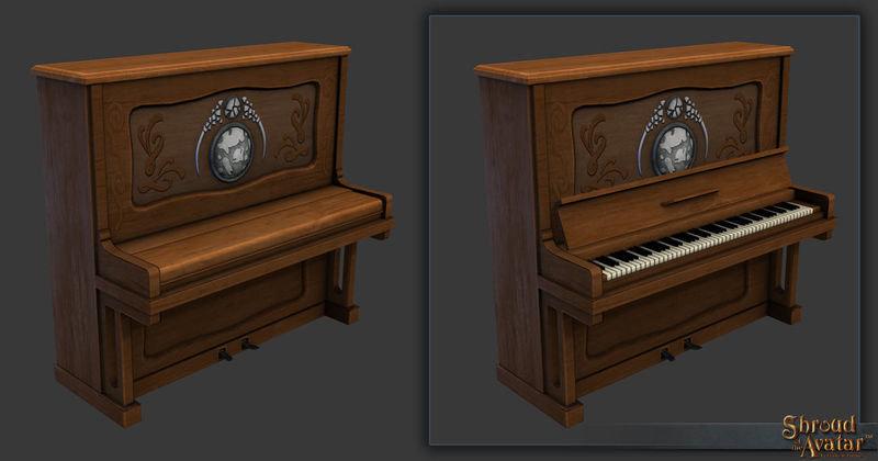 Benefactor Citizen Piano - Shroud of the Avatar