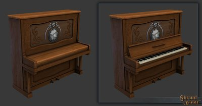 Benefactor Citizen Piano - Shroud of the Avatar