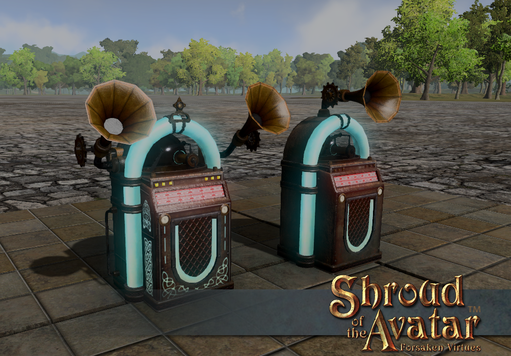 Ornate Automated Phonograph - Shroud of the Avatar