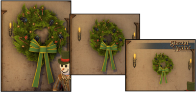 Small Ornate Yule Wreath 2016  - Shroud of the Avatar