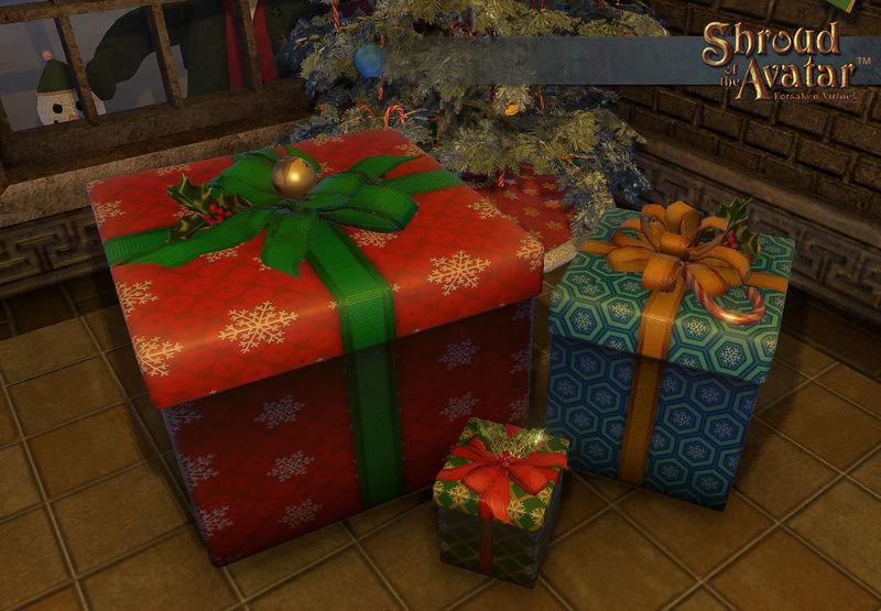 Yule 2016 Box Set (Large Yule Gift Box, Medium Yule Gift Box, Small Yule Gift Box) - Shroud of the Avatar