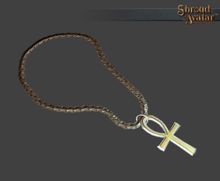 Ankh of Virtue Necklace - Shroud of the Avatar