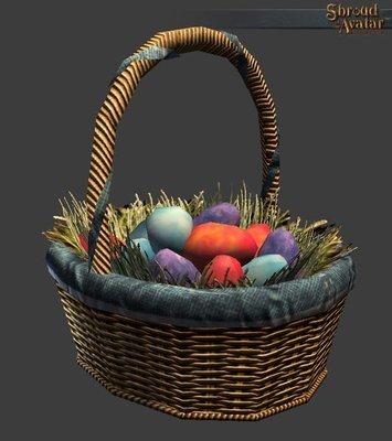 Replenishing Confetti Eggs Basket (Easter 2014) - Shroud of the Avatar