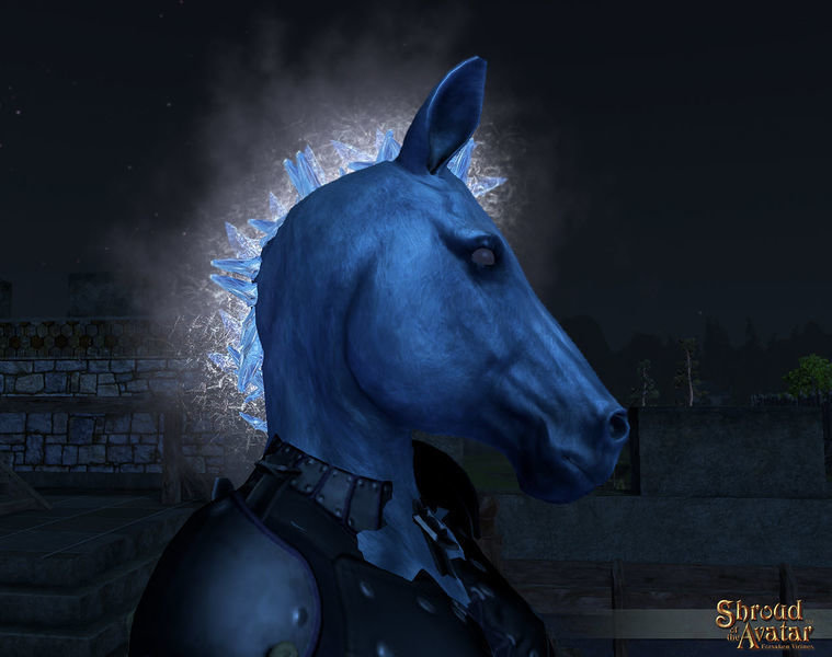 Ice Nightmare Mask - Shroud of the Avatar