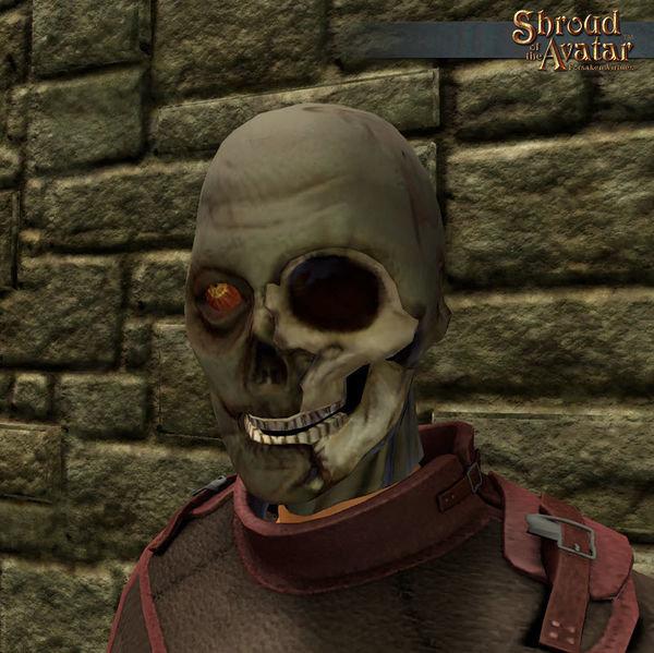 Zombie One-Eyed Mask - Shroud of the Avatar