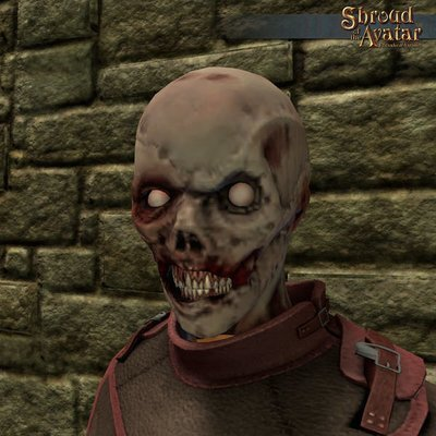 Zombie Mask - Shroud of the Avatar