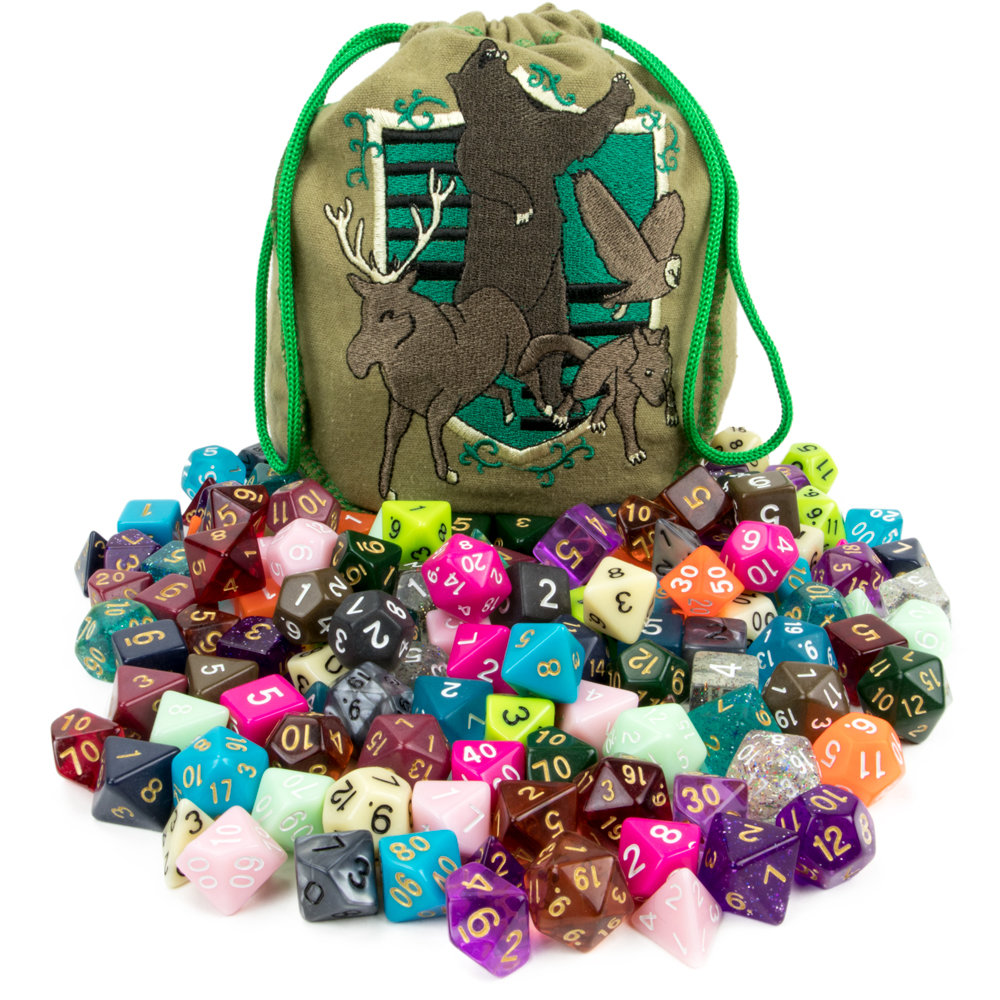 Bag of Tricks: 140 Polyhedral Dice in 20 Complete Sets