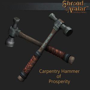 Carpentry Hammer of Prosperity - Shroud of the Avatar