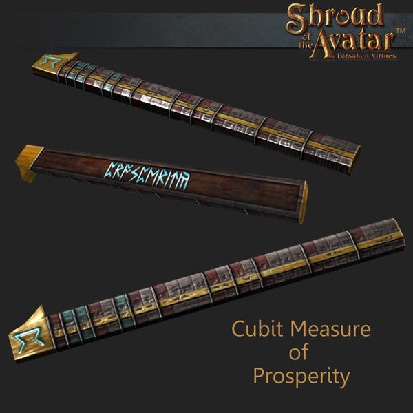 Cubit Measure of Prosperity - Shroud of the Avatar
