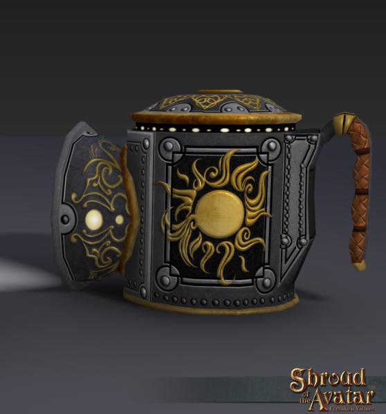 Metal Darklamp - Shroud of the Avatar