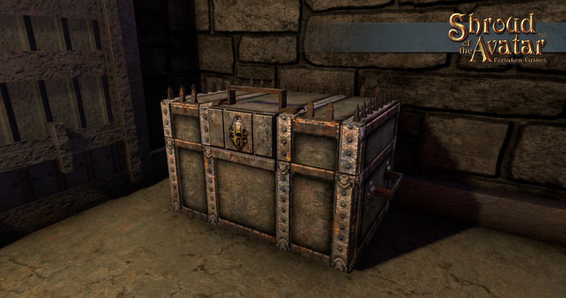 Kobold Metal Storage Chest - Shroud of the Avatar
