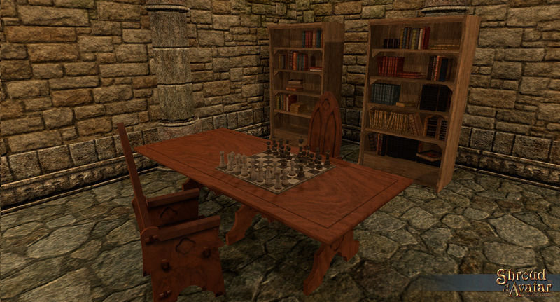 Tabletop Chess Set - Shroud of the Avatar
