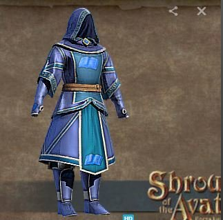Order of Truth Cloth SET (Boots, Gloves, Hood, Legs, Robe) - Shroud of the Avatar