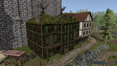 Elven Three-Story with Alcove (Row Home) - Shroud of the Avatar
