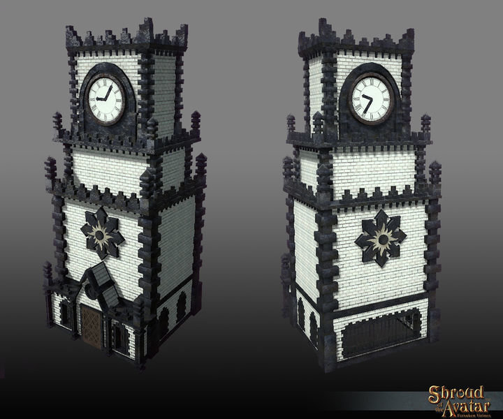 Darkstarr Clock Tower  - Shroud of the Avatar