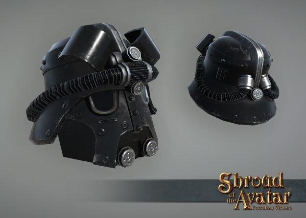 Black Sky Navy Helmet - Shroud of the Avatar