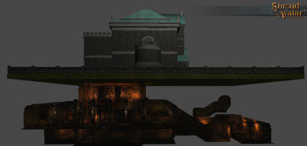 City Stone Arena Basement - Shroud of the Avatar