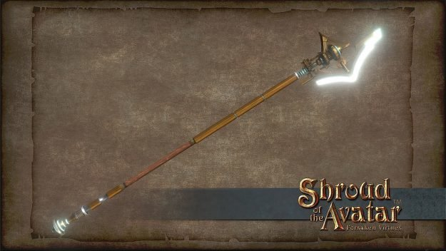 Electric Halberd - Shroud of the Avatar