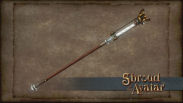 Electric Staff - Shroud of the Avatar