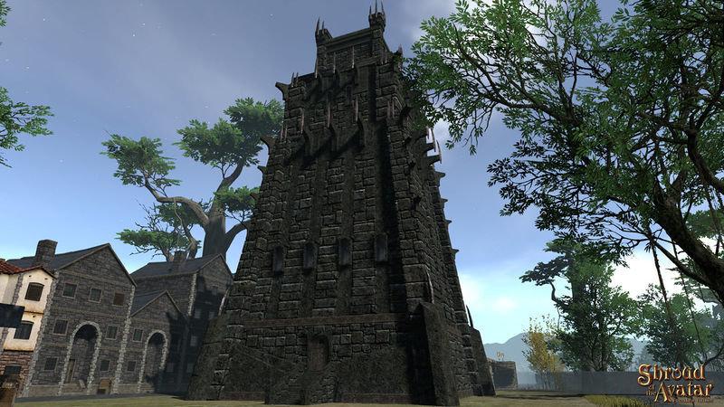 Obsidian Tower (Village Home) - Shroud of the Avatar