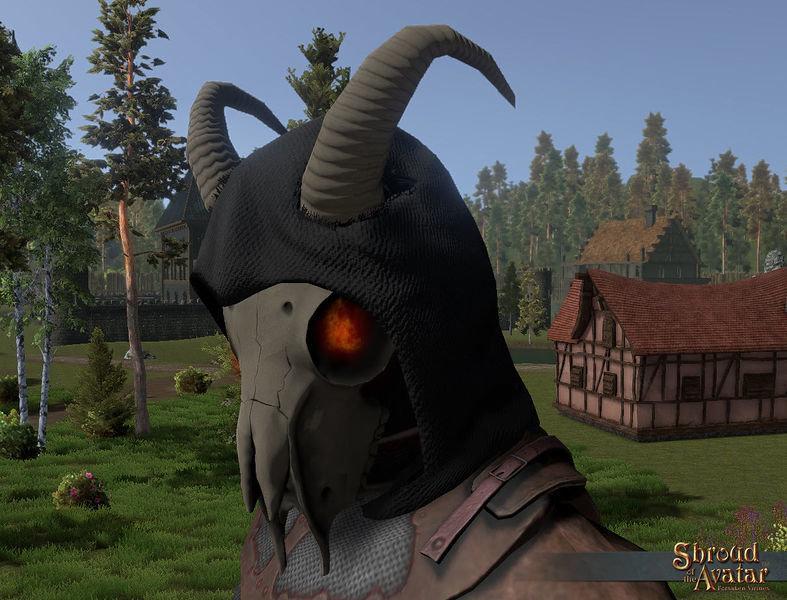 2016 Grim Reaper Mask - Shroud of the Avatar