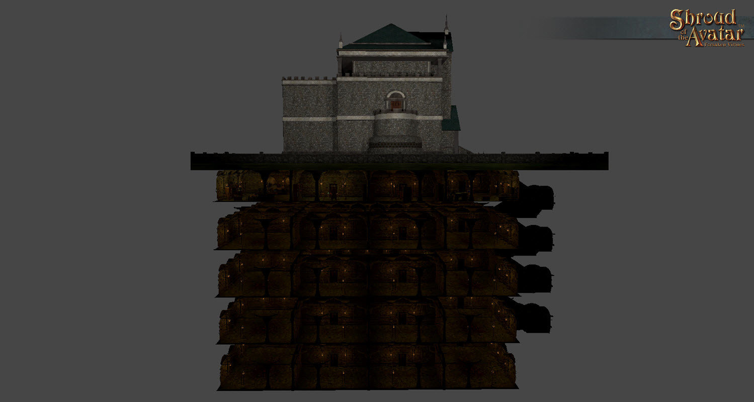 City Stone 2-Story Basement - Shroud of the Avatar
