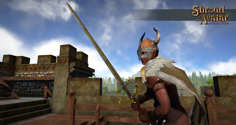 Ornate Bastard Sword - Shroud of the Avatar