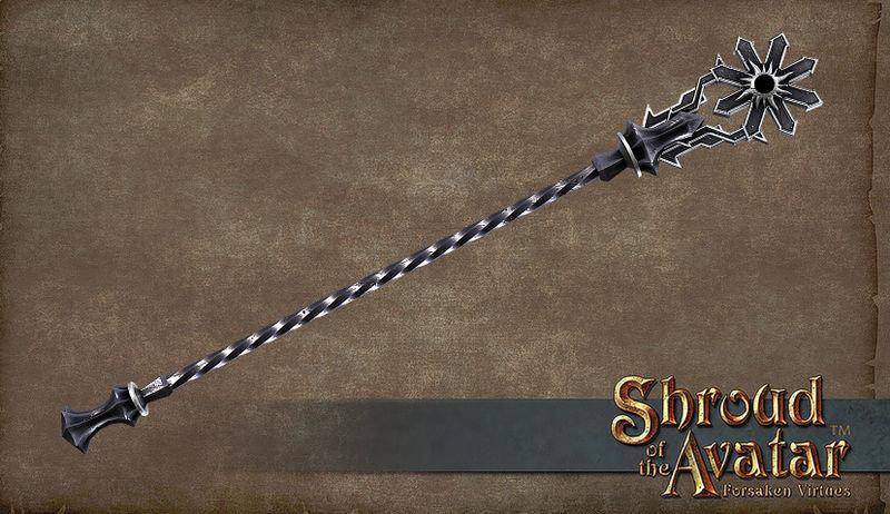 Darkstarr Staff  - Shroud of the Avatar